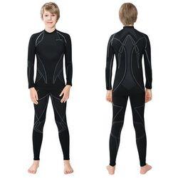 Koszula dziecięca Spaio Intense D/R W01 Junior - black/light grey spaio m14 (-15%)