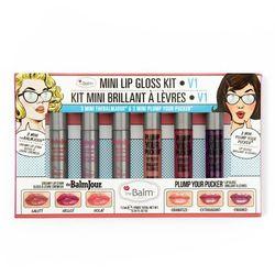 TheBalm Mini Lip Gloss Kit Vol. 1 | Zestaw 6 minibłyszczyków do ust 7,2ml