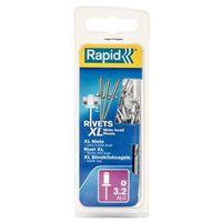 Wiertła, Nity Rapid XL wiertło śr. 3,2 x 8 mm 50 szt.