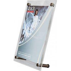 Tabliczka informacyjna stojąca EuroPLEX Portable 2x3 270x188mm