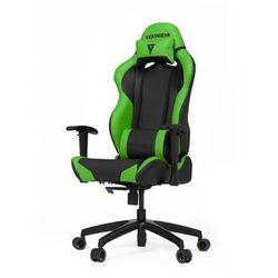 Vertagear S-Line SL2000 Racing Series Krzesło gamingowe - Czarno-zielony - Skóra PU - 150 kg
