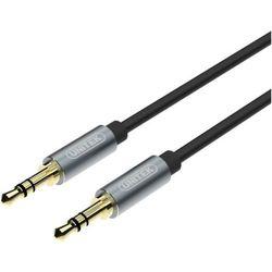 Kabel MiniJack 3,5mm (M) - MiniJack 3,5mm (M) UNITEK 15m + Zamów z DOSTAWĄ JUTRO!