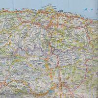 Mapy i atlasy turystyczne, Hiszpania Portugalia 1:700 000 (opr. twarda)