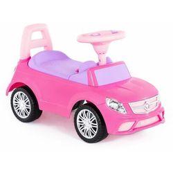 """Polesie 84491 Samochód-jeździk """"SuperCar"""" Nr3 z sygnałem dźwiękowym (różowy) darmowa dostawa"""