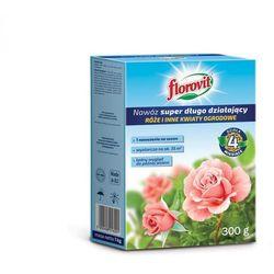 Nawóz super długo działający róże i inne kwiaty ogrodowe Florovit 300g