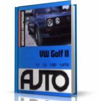 Biblioteka motoryzacji, VW Golf II 1,1/1,3/1,6D/1,6TD (opr. miękka)