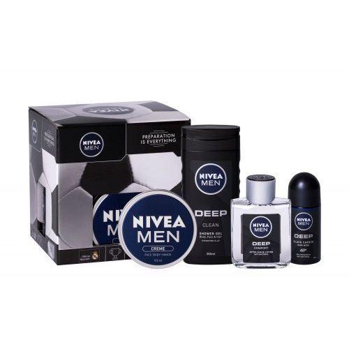 Wody po goleniu, Nivea Men Deep Comfort zestaw 100 ml dla mężczyzn