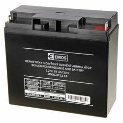 Akumulator ołowiowy AGM 12V 18Ah 12x12 B9655