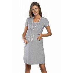Italian fashion carlina kr.r. damska koszula nocna