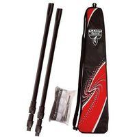 Badminton i speedminton, Zestaw badminton Talbot Net-siatka+słupki