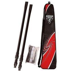 Zestaw badminton Talbot Net-siatka+słupki