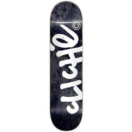 Pozostały skating, deska CLICHE - Handwritten Rhm Black (BLACK)