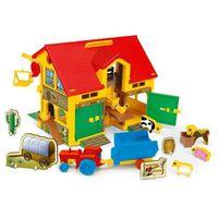 Figurki i postacie, Wader Zestaw figurek Play House Farma 37 cm pudełko