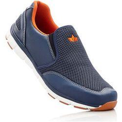 Buty wsuwane Lico bonprix ciemnoniebiesko-pomarańczowy