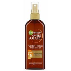 Garnier Ambre Solaire Golden Protect olejek do opalania SPF 15 (Protective Oil) 150 ml