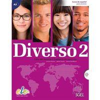 Książki do nauki języka, Diverso 2 podręcznik + ćwiczenia + płyta CD audio - Alonso Encina, Jaime Corpas, Gambluch Carina (opr. miękka)