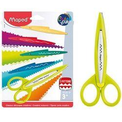 Nożyczki kreatrywne + 5 zestawów ostrzy MAPED
