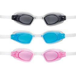 Okulary do pływania i nurkowania dla dziecka różowe INTEX 55682 - Różowy