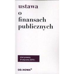 Ustawa o finansach publicznych broszura 2019 - Anna Prus (opr. miękka)