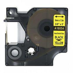 Rurka termokurczliwa DYMO Rhino 18054 9mm x 1.5m ø 1.7mm-3.7mm żółta czarny nadruk S0718290 - zamiennik | OSZCZĘDZAJ DO 80% - Z