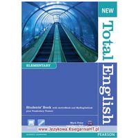 Książki do nauki języka, New Total English Elementary Podręcznik + Myenglishlab (opr. miękka)
