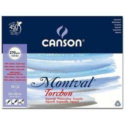 Blok do akwareli CANSON Mont-Torch 24x32 270g.