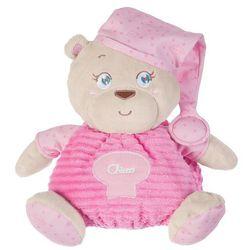 Chicco: Przytulanki - Pluszowy miś różowy