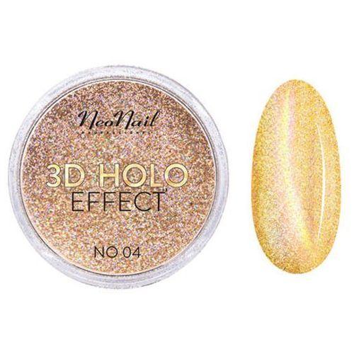 Ozdoby na paznokcie, NeoNail 3D HOLO EFFECT Pyłek do zdobień (No 04)