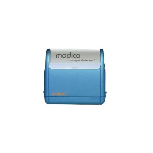 Stemple i akcjesoria, Pieczątka Samotuszująca Modico 3 Niebieska Pieczątka Samotuszująca Modico 3 Niebieska