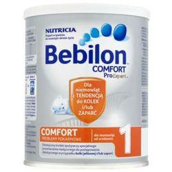 Bebilon COMFORT 1 ProExpert mleko początkowe na kolki i zaparcia od urodzenia 400g