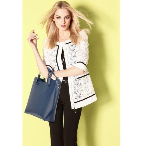 Torebki, Torebka damska Shopper Bag Hit! czarna - czarny