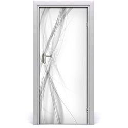 Naklejka samoprzylepna na drzwi Abstrakcja fale