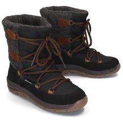 MANITU 991263-1 schwarz, śniegowce damskie