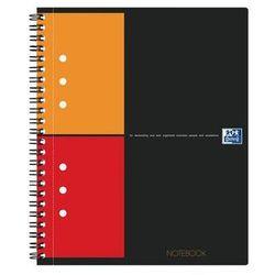 OXFORD Kołobrulion INTERNATIONAL NOTEBOOK A5+, kratka, 80 kartek, 80g