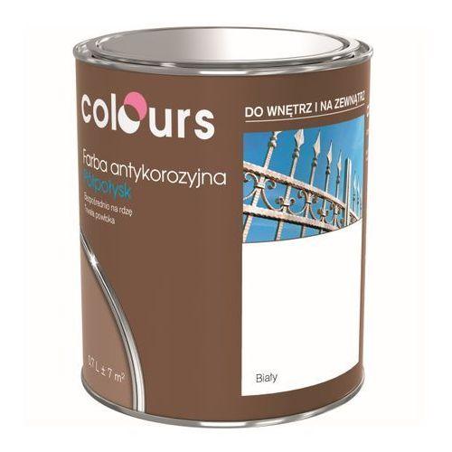 Farby, Farba antykorozyjna Colours biała 0,7 l