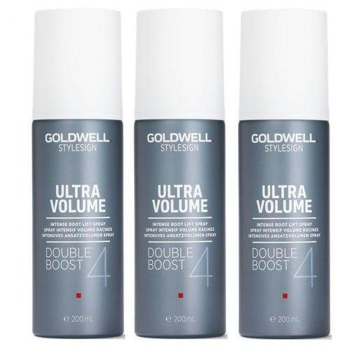 Inne kosmetyki do włosów, Goldwell StyleSign Ultra Volume Double Boost   Zestaw: spray zwiększający objętość 3x200ml