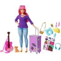 Pozostałe zabawki, BARBIE Daisy z Kotkiem w Podróży FWV26