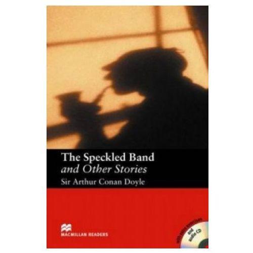 Książki do nauki języka, Macmillan Readers The Speckled Band and Other Stories Intermediate Pack (opr. miękka)
