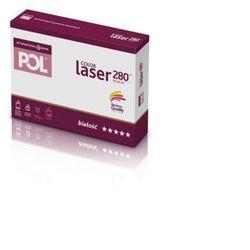 Papier xero A4 PolColor Laser 280g. biały