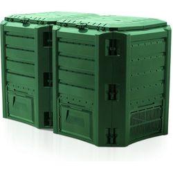 Kompostownik MODULE COMPOGREEN 800l Zielony IKSM800Z / IIKSM800Z / PROSPERPLAST - ZYSKAJ RABAT 30 ZŁ