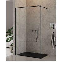 Ścianki prysznicowe, Ścianka 120 cm EXK-0108 New Modus Black New Trendy UZYSKAJ RABAT NA KABINĘ W SKLEPIE