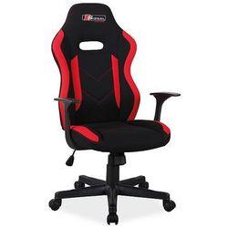 Fotel Signal RAPID gamingowy czarny/czerwony