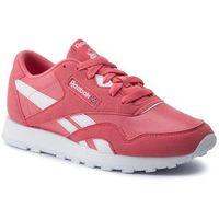 Buty sportowe dla dzieci, Buty Reebok - Cl Nylon Mu Junior CN7626 Bright Rose/White