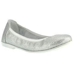 Baleriny dla dziewczynki Kornecki 06099 - Srebrny