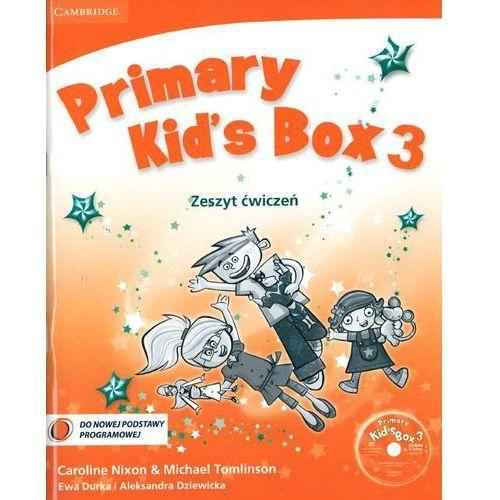 Książki dla dzieci, Język angielski Primary Kid`s Box 3 ćwiczenia Edukacja wczesnoszkolna (opr. miękka)