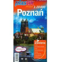 Przewodniki turystyczne, Plan miasta Poznań (1:20 000) - plastikowa oprawa