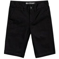 szorty DC - Worker Chino Short Boy Black (KVJ0) rozmiar: 24/8