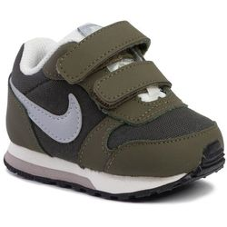 Buty NIKE - Md Runner 2 (TDV) 806255 301 Sequoia/Wolf Grey/Olive Canvas