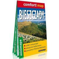 Mapy i atlasy turystyczne, Bieszczady laminowana mapa turystyczna mini 1:200 000 (opr. miękka)