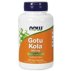 Now Foods Gotu Kola 450mg 100kaps